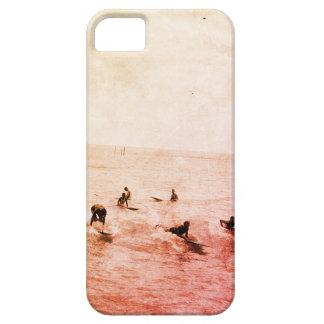Surfers on Waikiki Beach, Hawaii, 1920s Photo iPhone 5 Cover