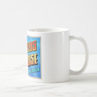 SURFERS PARADISE CLASSIC WHITE COFFEE MUG