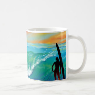Surfer's Paradise Coffee Cup