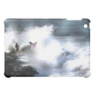 Surfers Rainbow Bay Australia Splash iPad Mini Case