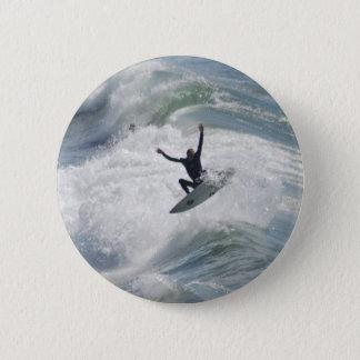 Surfin 2 Inch Round Button