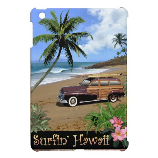 Surfin' Hawaii iPad Mini Cases
