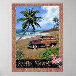 Surfin' Hawaii Poster