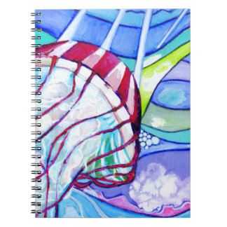 Surfin Jelly Notebook