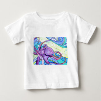 Surfin Octopus Baby T-Shirt