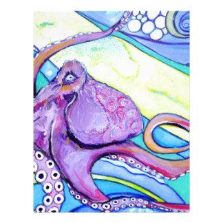 Surfin Octopus Letterhead