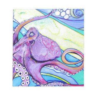 Surfin Octopus Notepad