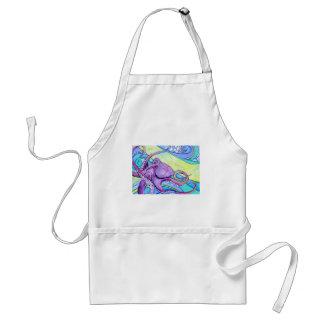 Surfin Octopus Standard Apron