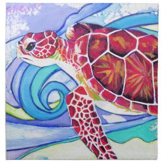 Surfin' Turtle Napkin