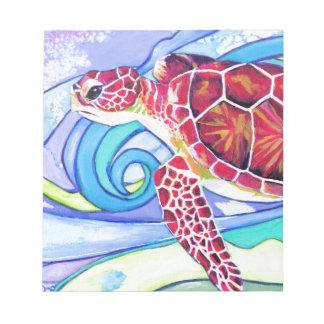Surfin' Turtle Notepad