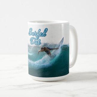 Surfing 11 coffee mug