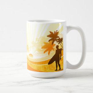 Surfing 7 coffee mug