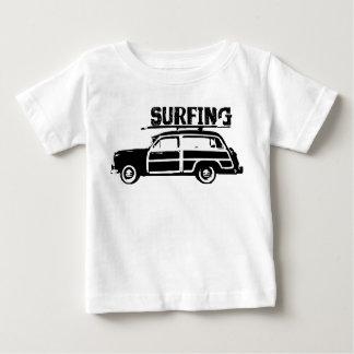 Surfing Baby Baby T-Shirt