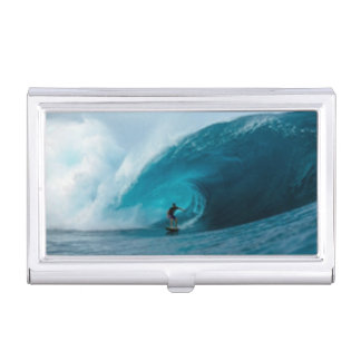 Surfing Business Card Holder