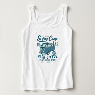 Surfing Camp Women's Tank Tops