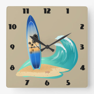 surfing clock