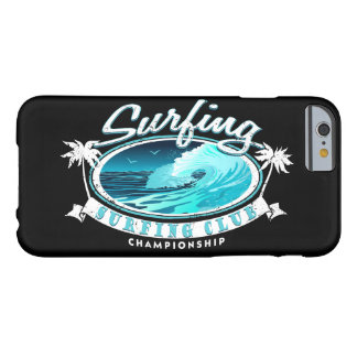 Surfing Club Barely There iPhone 6 Case