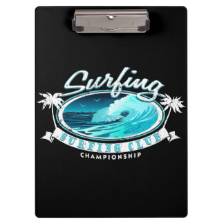 Surfing Club Clipboard