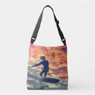 Surfing Crossbody Bag