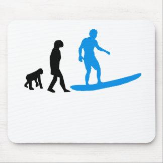 Surfing Evolution Mousepads