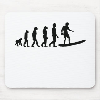 Surfing Evolution Mouse Pad