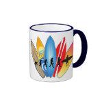 Surfing Evolution Ringer Mug