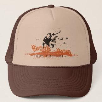 Surfing Freedom Trucker Hat