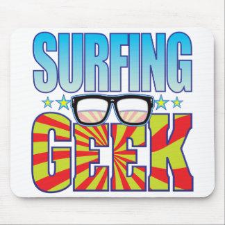 Surfing Geek v4 Mousepad