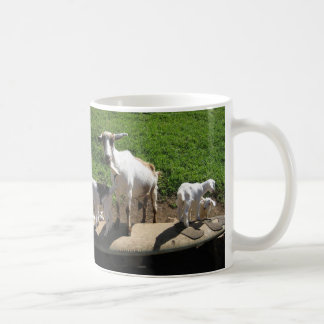 Surfing Goats Coffee Mug