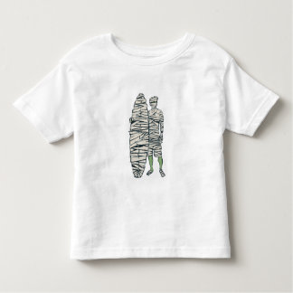 Surfing Halloween Mummy Toddler T-shirt