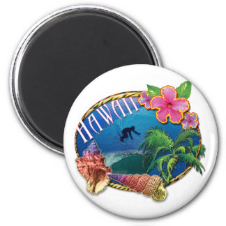 Surfing Hawaii Magnet
