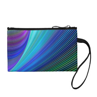 Surfing in a magic wave coin purse