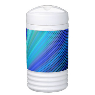 Surfing in a magic wave drinks cooler