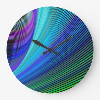 Surfing in a magic wave large clock