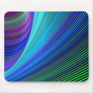 Surfing in a magic wave mouse pad