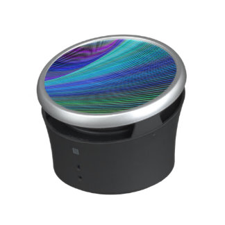 Surfing in a magic wave speaker