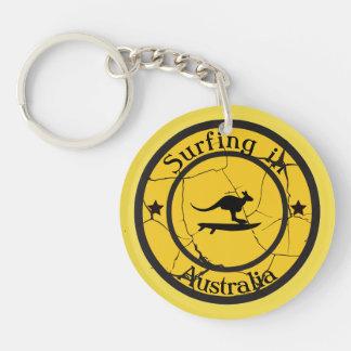 SurfinginAustralia Keychain