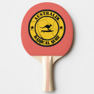 SurfinginAustralia Ping Pong Paddle