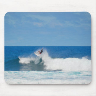 Surfing in Hawaii Mouse Pad