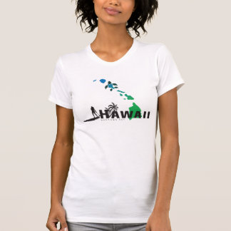 Surfing in  the Hawaii Islands 414 T-Shirt
