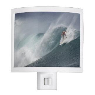 Surfing indonesia java island nite lite