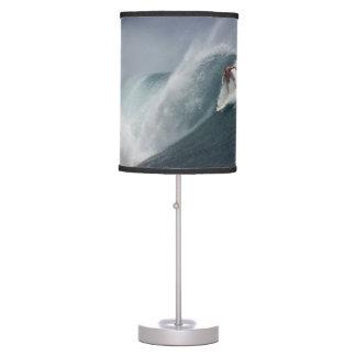 Surfing indonesia java island table lamp