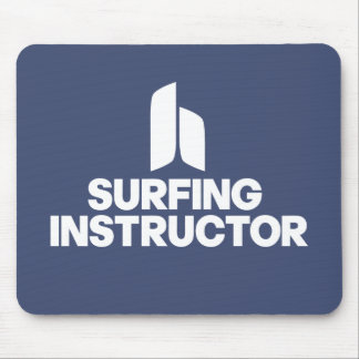 Surfing Instructor Mouse Pad