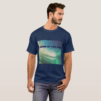"""Surfing My Own Wave"" Inspired by Kid Cudi T-shirt"
