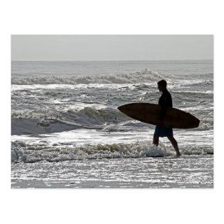 Surfing OBX Postcard