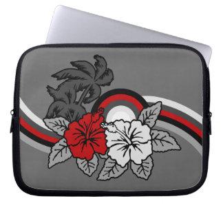 Surfing Safari Hawaiian Neoprene Wetsuit Laptop Sleeve
