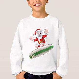 Surfing Santa Sweatshirt