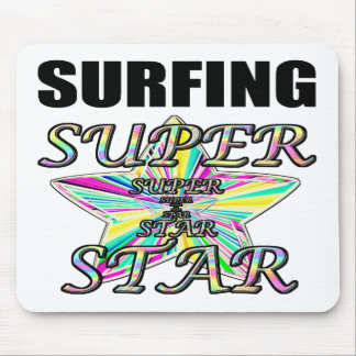 Surfing Superstar Mousepad