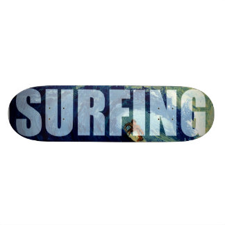 Surfing Surf Sea Water Sport Skate Board Deck Art