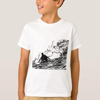 Surfing Surfer Design Retro Style T-Shirt